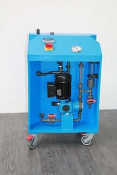 Anlage zur Wasseraufbereitung an Startlochbohrmaschinen Typ: GW-RD5
