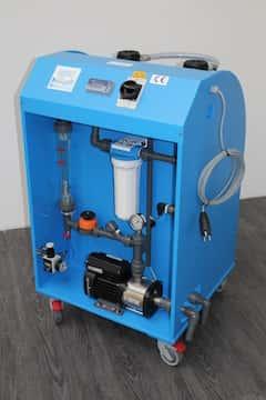 Anlage zur Wasseraufbereitung an Erodiermaschinen GW 1800MB