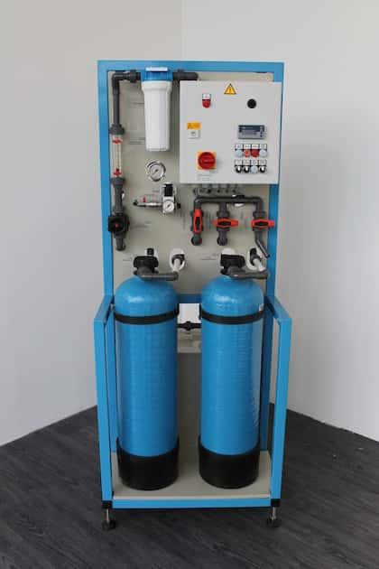 Kreislaufanlage GW900-KIA mit einer hydraulischen Leistung von max. 1m³/h
