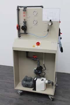 Ionenaustauscheranlagen zur Pflege von Elektrolyten mit Patronen zur externen Regeneration; mobile Ausführung