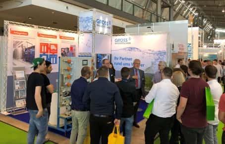 Messestand GROSS-Wassertechnik auf der Surface Technology 2018