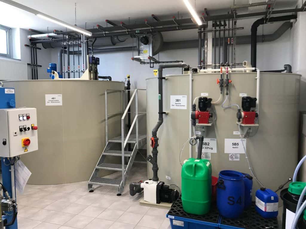 Chemisch physikalische Abwasserbehandlung