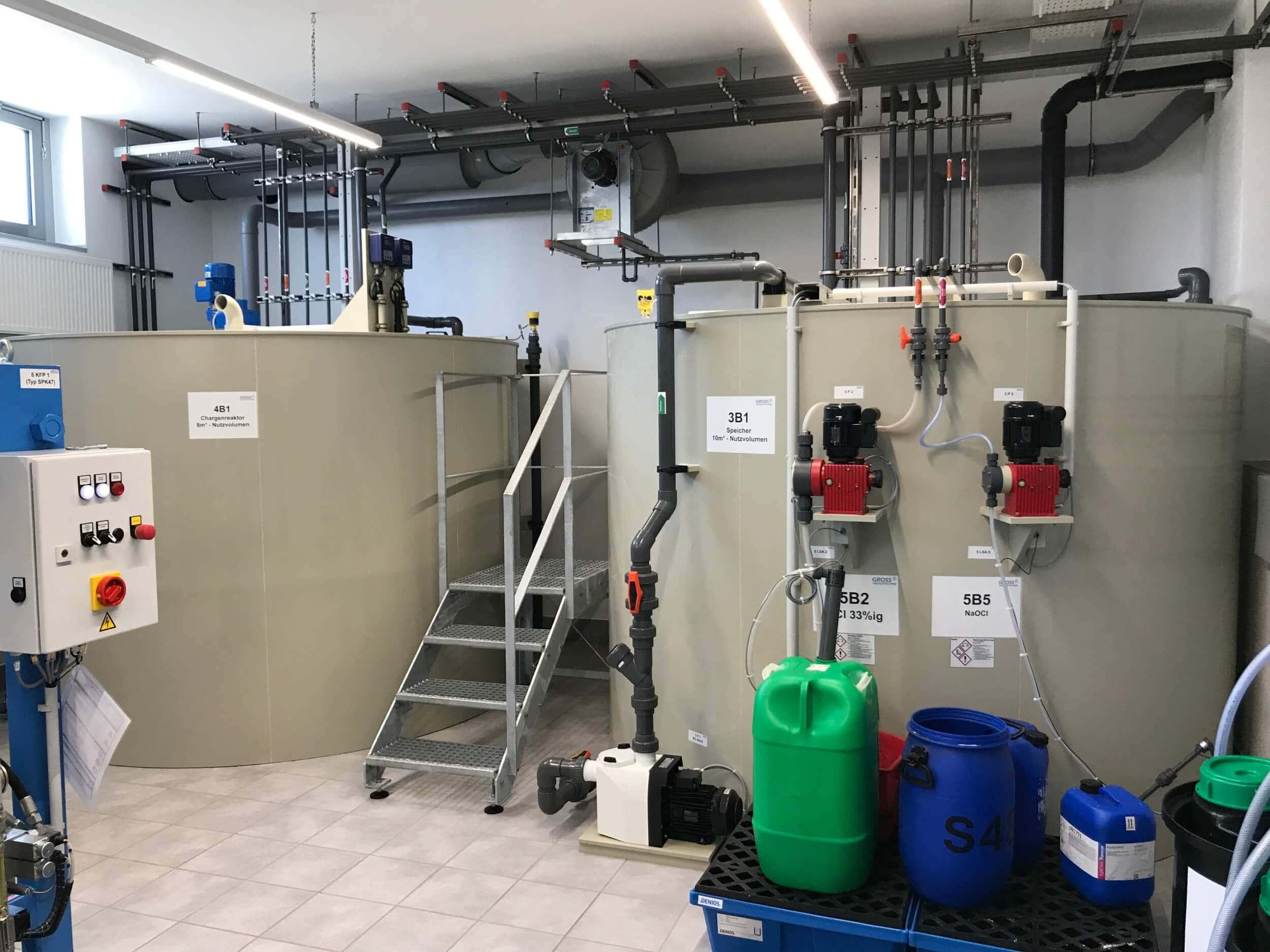 Abwasserbehandlungsanlage