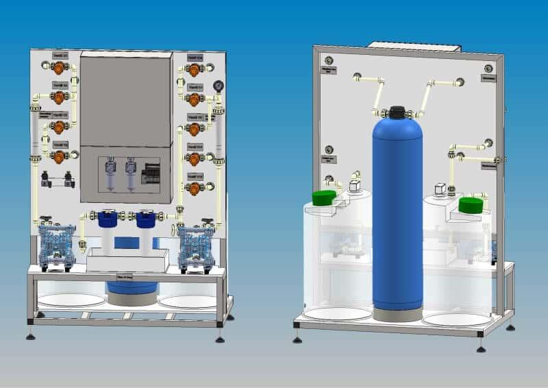 Retardationsanlage zur Standzeitverlängerung von Anodisierbädern