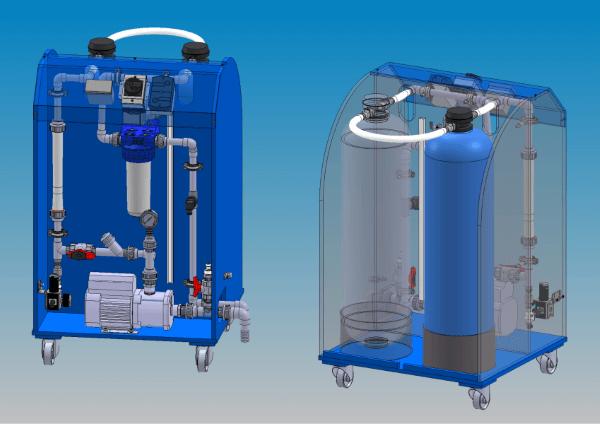 Wasseraufbereitung für den Werkzeugbau Drahterosion