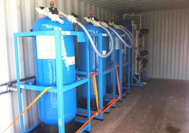 Mobile Anlagen zur Grundwasser- und Bodensanierung