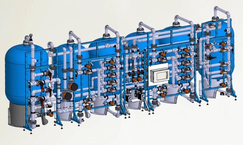 Anlagen zur Prozesswasseraufbereitung