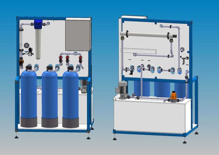 Mobile Kreislaufanlagen zur Prozesswasseraufbereitung
