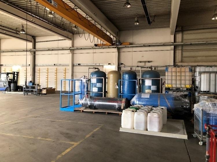 GROSS Wassertechnik Halle Keltern